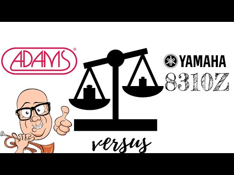 The New Yamaha  Shew versus the Adams A9 Trumpet head-to-head comparison!  What do you hear?
