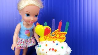 Video Elsa's BIRTHDAY party ! Elsa and Anna toddlers party with friends - Surprise Gifts - Cake MP3, 3GP, MP4, WEBM, AVI, FLV Agustus 2018