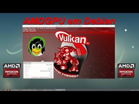 Amdgpu no Debian - recompilando o Kernel, ativando Vulkan etc