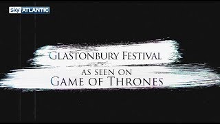 When your favourite show goes to your favourite festival. We proudly present Thrones Goes To Glasto. #GoTS7 #GlastonburyWatch more on YouTube: https://youtube.com/user/SkyAtlanticLike us on Facebook: https://facebook.com/SkyAtlanticFollow us on Twitter: https://twitter.com/skyatlantic