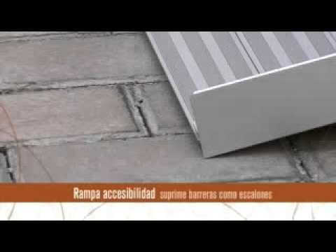 Rampa Salvaescaleras Enrollable Grande