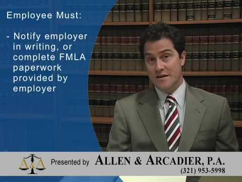 Employment Law: Family Medical Leave Act (FMLA)