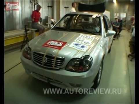 Краш тест на китайски автомобили