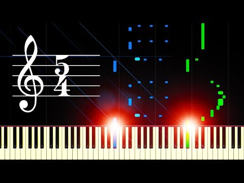 Video TAKE FIVE by the DAVE BRUBECK QUARTET - Piano Tutorial download in MP3, 3GP, MP4, WEBM, AVI, FLV January 2017