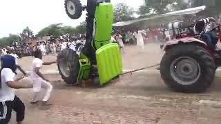 tractor fight in Punjab | tractor tochan mukabla | Arjun pull preet | tractor accident