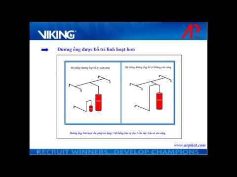 Hệ thống chữa cháy (FM200/ Novec) áp lực cao 50 bar - Viking