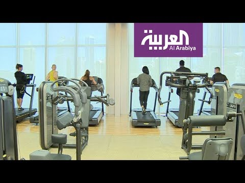 العرب اليوم - شاهد:صالة رياضية ذكية في دبي