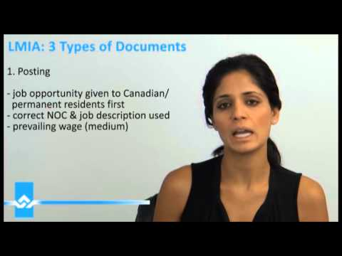 LMIA Types of Documents Video