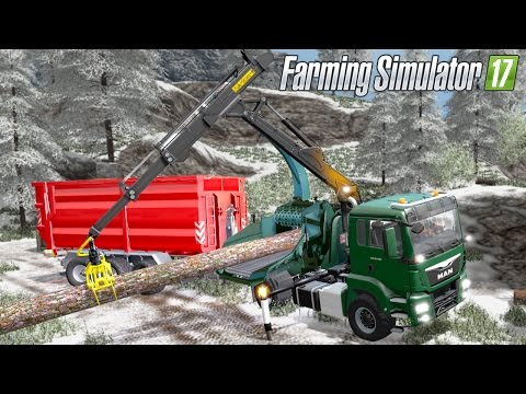 MAN TGS 18.480 with Jenz HEM583 Woodcrusher V1.4