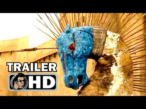 TROY: FALL OF A CITY Official Trailer (2018) Netflix Action Series HD