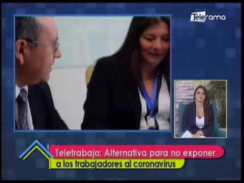 Teletrabajo: Alternativa para no exponer a los trabajadores al coronavirus