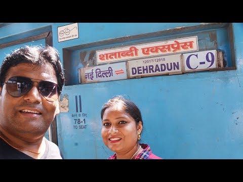 Dehradun to Delhi || Shatabdi express (12018)|| Train Journey