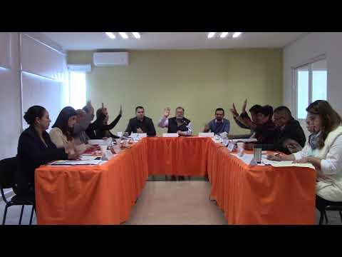 Sesión Extraordinaria No. 06 de Ayuntamiento 8 de noviembre de 2018