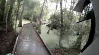 2. 2013 Kawasaki klx250s Dual Sport Adventure Riding a Wet n Rainy Day
