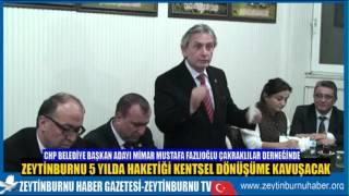 CHP Belediye Başkan Adayı Mimar Mustafa Fazlıoğlu Giresun Çakraklılar Derneğinde