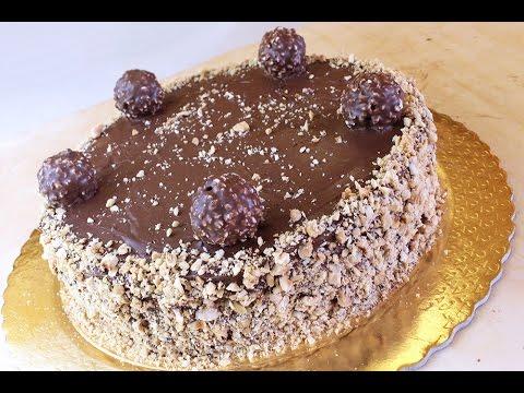 Torta Ferrero Rocher con la Nutella ♥ VIDEORICETTA