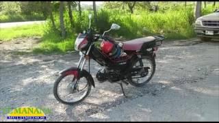 Motociclista lesionado en choque; Carretera Valles – Mante