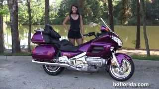 1. Used 2004 Honda Goldwing GL1800 Motorcycles for sale