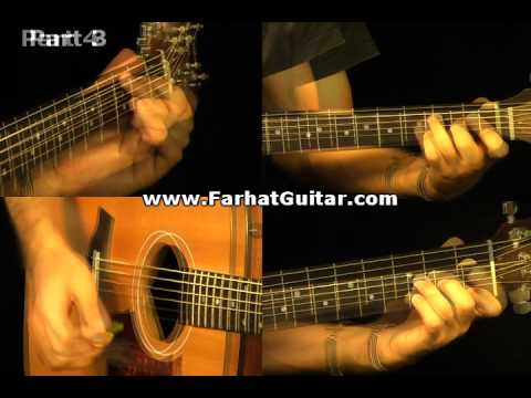 The Man Who Sold the World Nirvana Guitar Cover  Part 6 www.FarhatGuitar.com