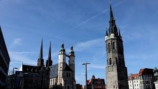 Halle an der Saale Germany  city photos : Halle / Saale im März 2015, Sachsen-Anhalt, Germany