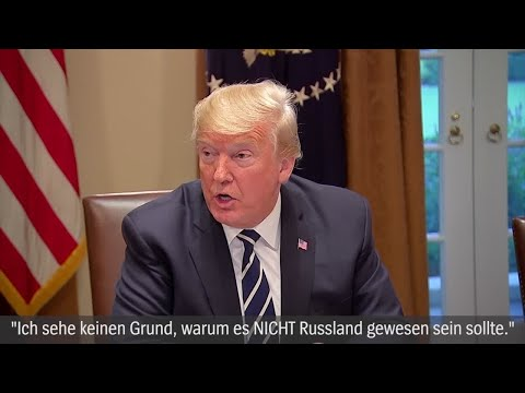 Trump zu Russland-Äußerungen: Alles nur ein Versprecher?