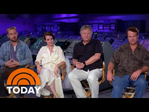 Ryan Gosling And Claire Foy Open Up About Filming 'First Man' | TODAY