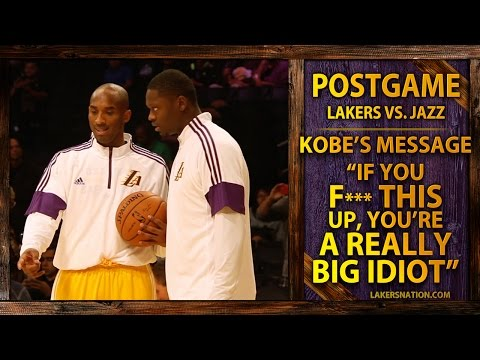 Video: Kobe Bryant's Message To Julius,