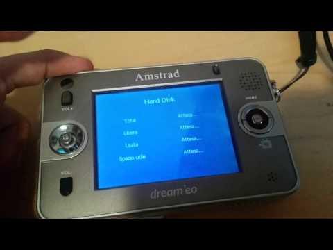 Amstrad dream'eo - registratore portatile con hard disk