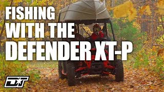5. Fishing off the Grid with the Can-Am Defender XT-P