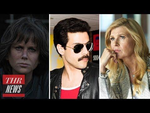 Golden Globes 2019: Nicole Kidman, Rami Malek & More React to Nominations | THR News