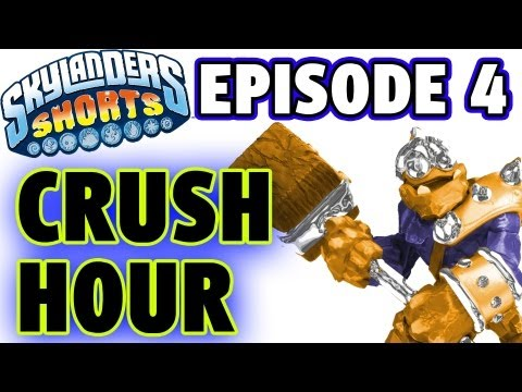 Crusher Gets Angry - Skylanders Shorts (Episode 4)