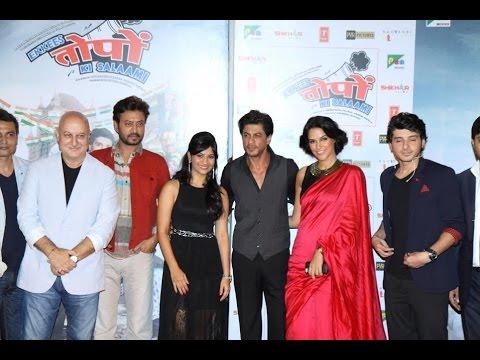 Shahrukh Khan At Trailer Launch of Movie Ekkees Topon Ki Salaami