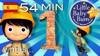 Descarga los vídeos de LBB https://bamazoo.com/littlebabybumespanolPeluches: http://littlebabybum.com/shop/plush-toys/© El Bebe Productions Limited00:04 El número 101:36 La canción de la luna03:18 Quiquiriquiquí04:54 Una patata, dos patatas06:51 Estrellita, ¿dónde estás? - India08:47 Rig a jig jig10:25 Seis patitos12:20 Osito, osito14:07 El viejito toca un uno16:56 Yankee Doodle18:28 El viejo rey Cole20:03 La marinera fue al mar, mar, mar21:44 La canción del baño23:30 La canción de cumpleaños feliz24:36 Ordena tu habitación26:19 Si te sientes muy feliz, ¡aplaude así! - Parte 228:04 Jack y Jill29:32 Grande y pequeño31:19 Jack, sé ágil32:56 La pequeña Sofía34:30 El número 436:02 La canción del zoo37:56 El viejo MacDonald tiene una granja - Parte 240:12 Tortas, tortitas41:12 Está lloviendo, diluviando42:18 Oigo un trueno43:55 La canción del avión45:29 Vamos a nadar47:15 La canción de las horas48:54 Gatito, gatito50:28 La canción del uno al diez - Parte 152:29 El león y el unicornio