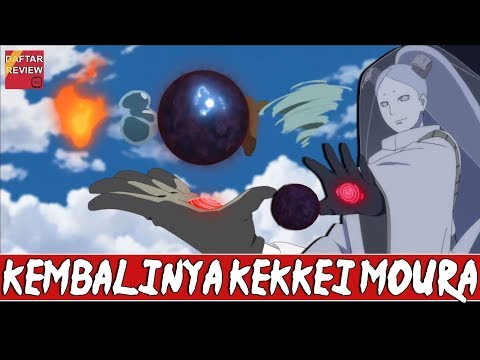 KEMBALINYA KEKKEI MOURA , Teknik Rahasia kaguya dan Klan otsutsuki (видео)