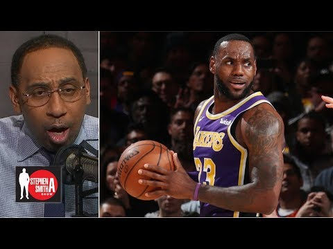 Why was LeBron taking so many 4th-quarter shots in loss to Knicks?   The Stephen A. Smith Show