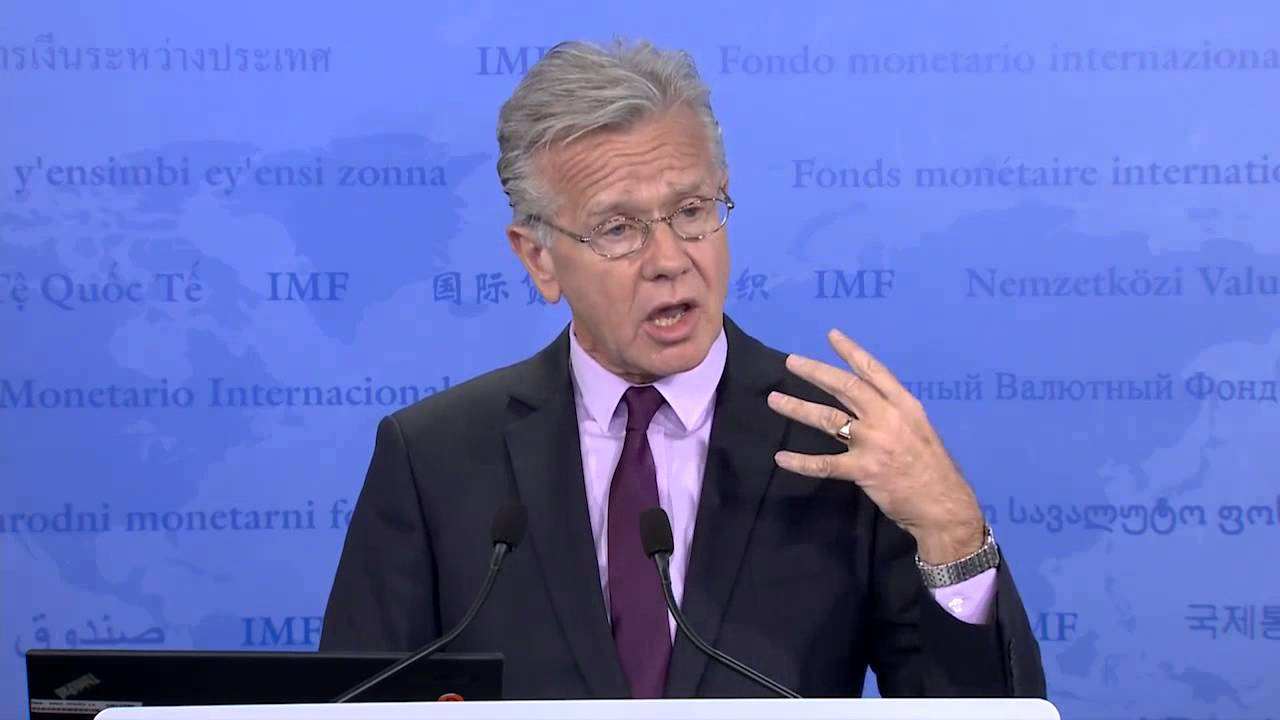 O εκπρόσωπος του ΔΝΤ, Τζέρι Ράις για την Ελλάδα
