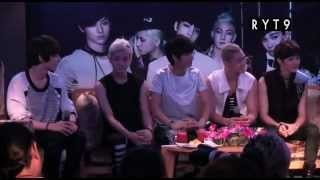 12/08/10 Interview NU'EST The 1st Face To Face In Thailand