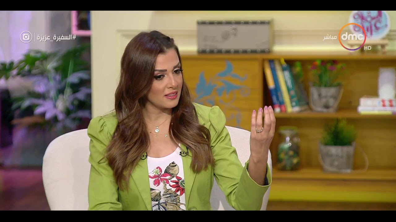 """السفيرة عزيزة - عزة العشماوي الأمين العام للمجلس القومي للأمومة والطفولة في ضيافة """" السفيرة عزيزة"""""""