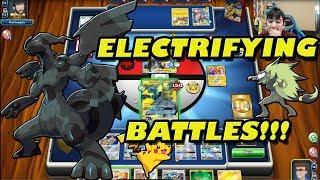 Pikachu & Zekrom TAG TEAM Battles PTCGO!! by The Pokémon Evolutionaries