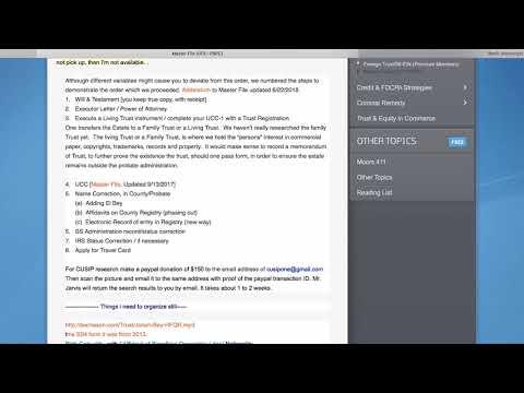 6/22/2018 Master File Update, Addendum I - Extra Long (reinforcement video)