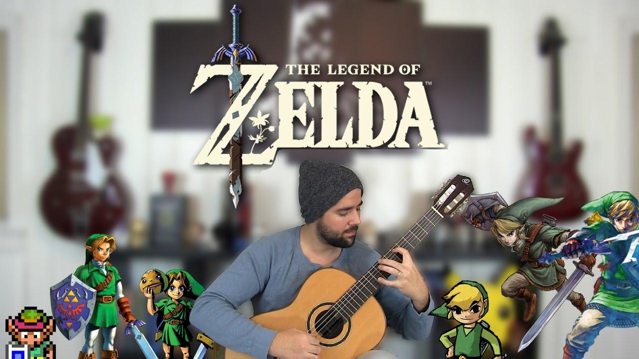 The Legend Of Zelda – The Classical Guitar Medley
