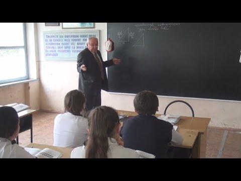 Tovuzlu müəllim riyaziyyat elmində yenilik edib (видео)