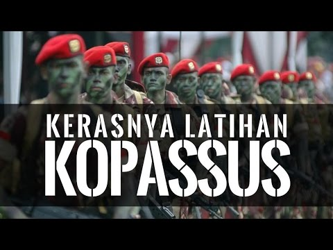 Download Video Latihan Kopassus Militer Indonesia