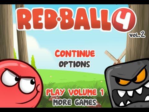 Red Ball 4 Vol.2  Walkthrough (видео)