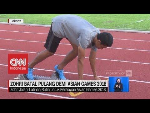 Zohri Batal Pulang Demi Asian Games 2018