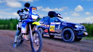 10. BMW F650 Dakar vs. BMW X5 - Fifth Gear