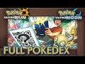 Complete Pokédex (All QR Codes & Shiny Pokémon)