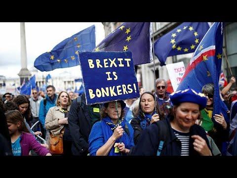 Μεγάλη διαδήλωση κατά του Brexit στο Λονδίνο
