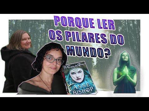 TRILOGIA OS PILARES DO MUNDO||Porque ler?  #ficaemcasa #fantasiamedieval    #annebishop