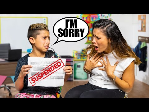 Telling My Parent's i Got SUSPENDED From SCHOOL!!   The Royalty Family